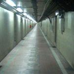 海底トンネル遊歩道