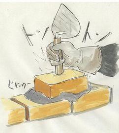 カッパドキ~ア レンガの積み方05
