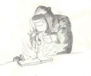 アーク溶接機インプレ08