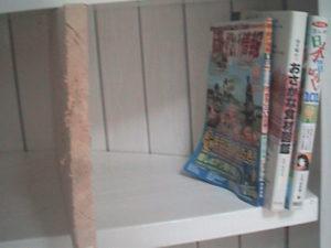 2×4材で白い本棚作り14