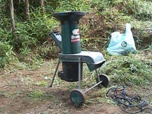 ガーデンシュレッダー使用法03