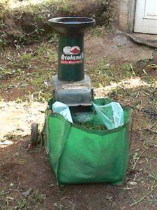 ガーデンシュレッダー使用法04