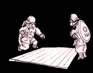 2×4材で白い本棚作り06