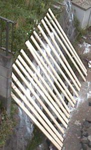 2×4材で白い本棚作り301