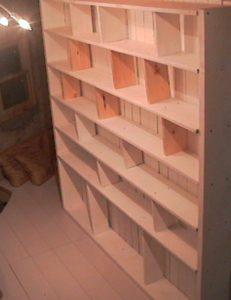 2×4材で白い本棚作り312