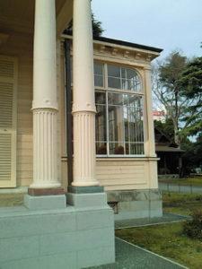 旧岩崎邸 サンルーム