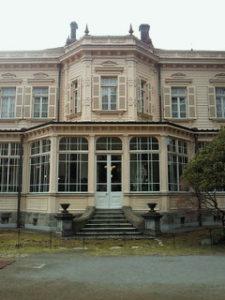 旧岩崎邸 サンルーム前景