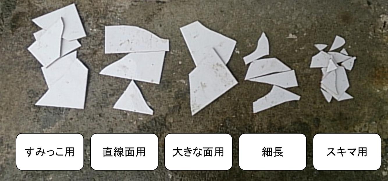 クラッシュタイル分類