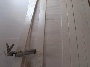 2×4材で白い本棚作り02