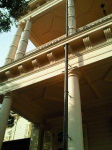 旧岩崎邸 ベランダ
