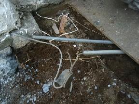 地下防水被膜配線法01