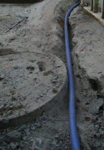 地下防水被膜配線法05